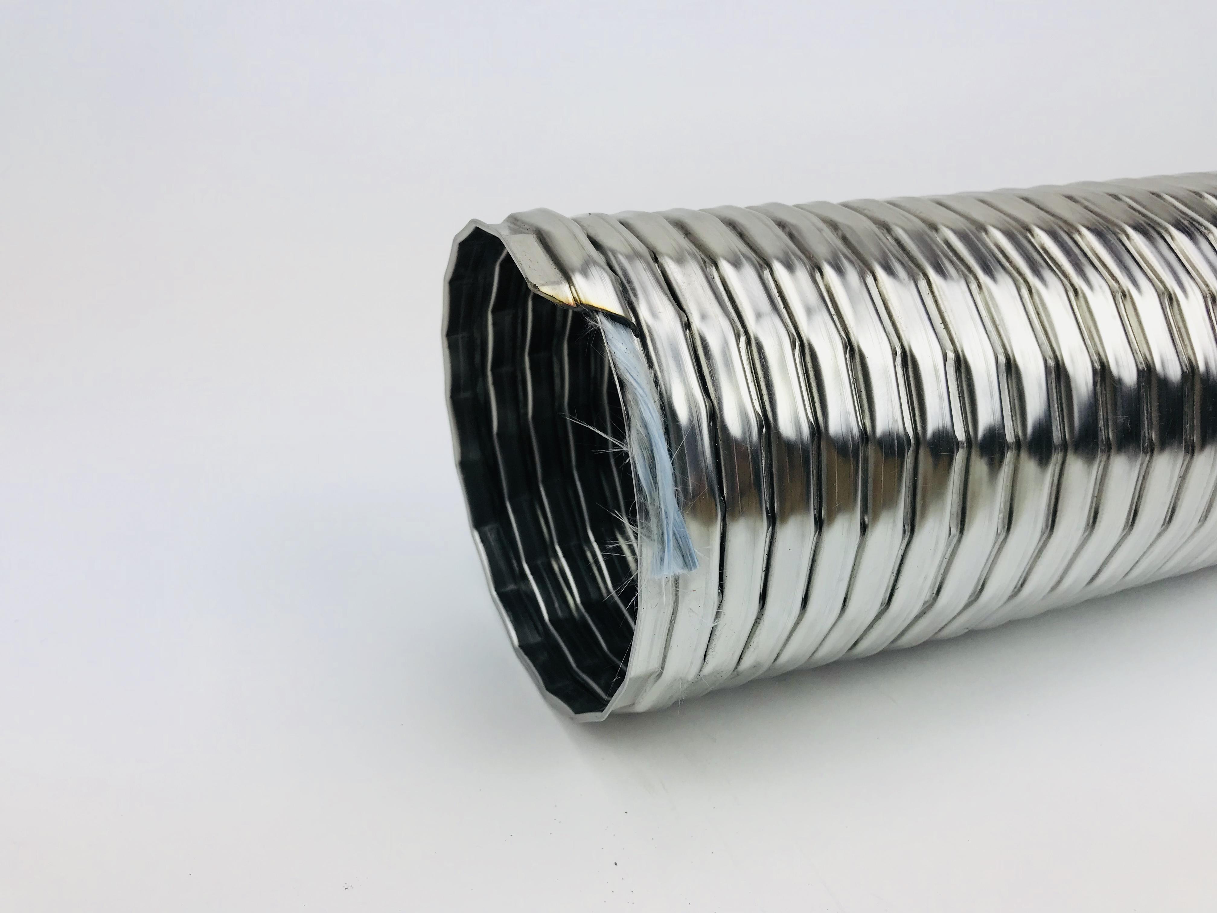 Ventilationsmetallschläuche aus rostfreiem Stahl